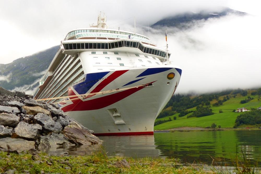 Britannia in Olden, Norway